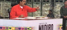 Presidente cambia el nombre a su programa: Los domingos con Maduro