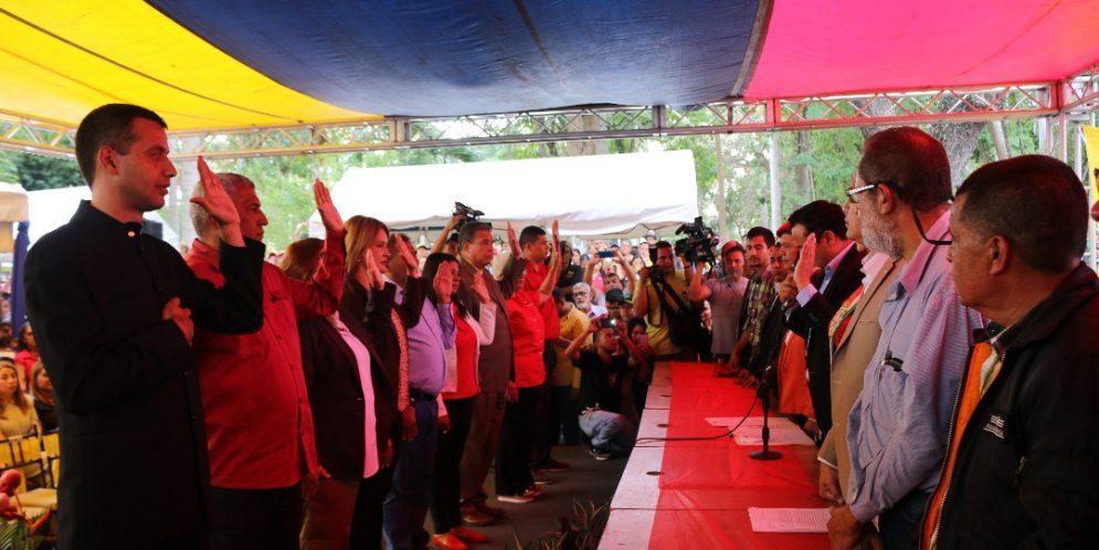 Juramentan a alcaldes bolivarianos de los 9 municipios del estado Lara