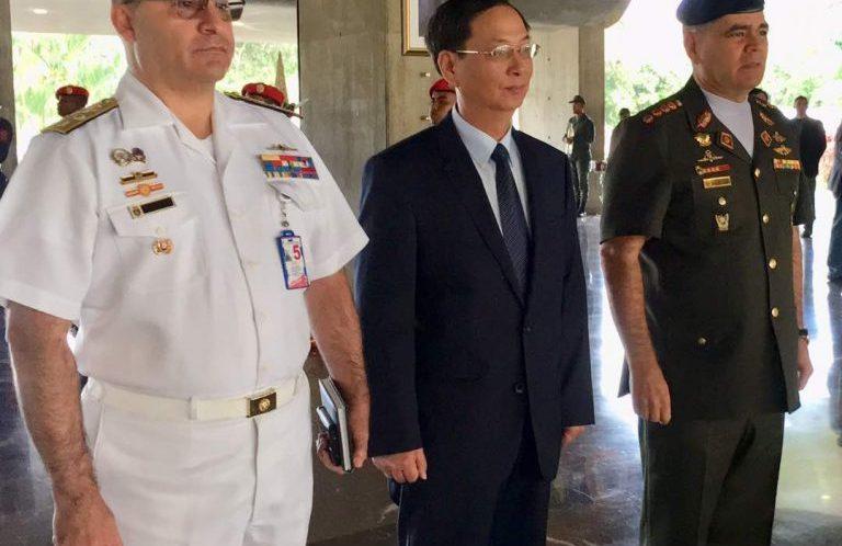 Ministro Padrino López recibió a embajadores de China y Vietnam