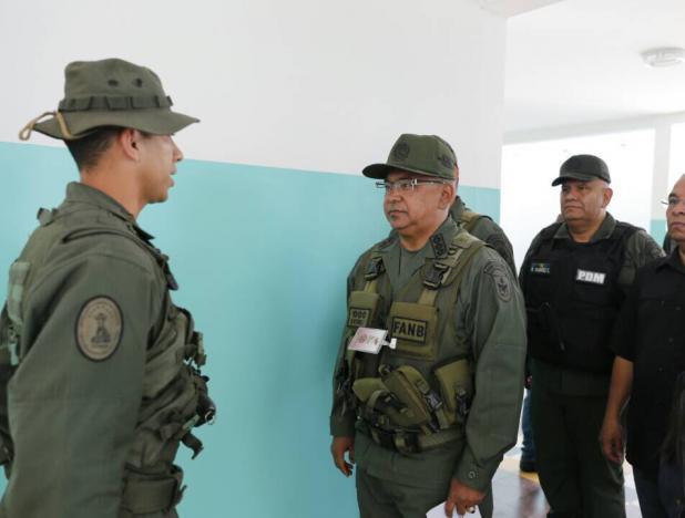 Ministro Reverol: Más de dos mil cuadrantes de paz garantizan seguridad del pueblo este 10-D