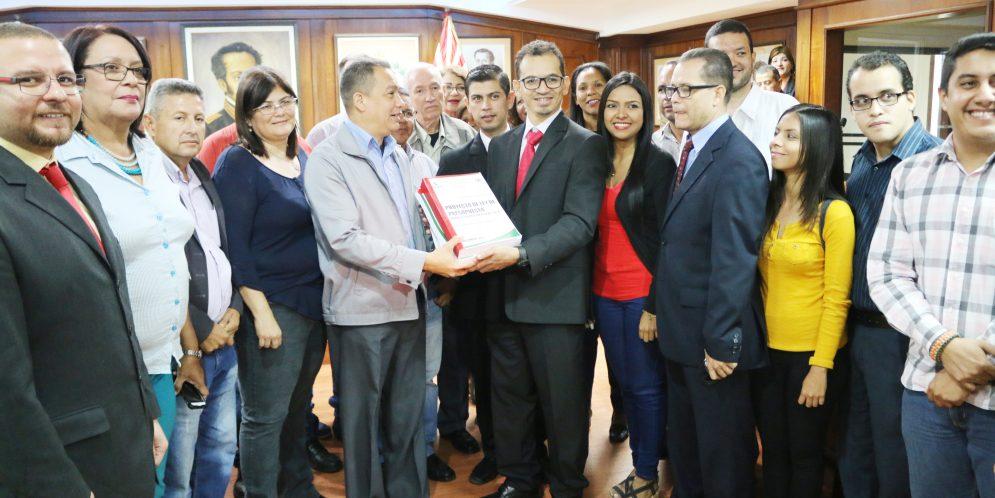 Gobernación de Lara presentó Presupuesto 2018 ante el CLEL