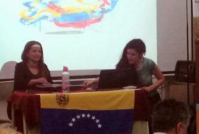 En la Patagonia Argentina se realizó conferencia en apoyo a la Revolución Bolivariana