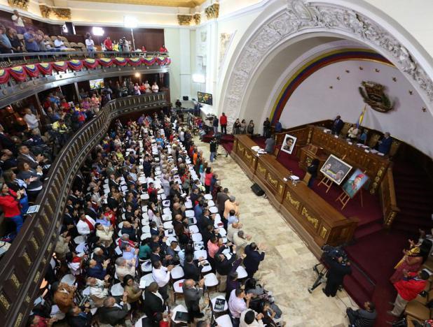 ANC aprueba decreto que exige la renuncia de Almagro como secretario general de la OEA