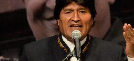 Presidente Evo Morales condena planes conspirativos de Trump contra Venezuela