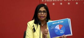 Delcy Rodríguez: La verdadera crisis humanitaria es la que causa la OTAN