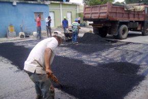 En Palavecino: Mirna Vies activa Plan de Recuperación Vial