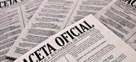 GACETA OFICIAL   Publican lista de precios acordados de 56 fármacos