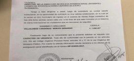 Venezuela solicita a Interpol Alerta Roja contra Nervis Villalobos por implicación en blanqueo de capitales