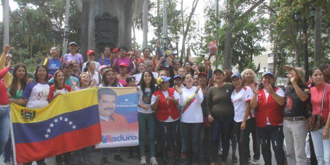 PUEBLO EN LA CALLE: Poder Popular Organizado ratifica su respaldo a la Revolución Bolivariana