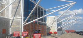 Transbarca trabaja en la construcción de nuevas oficinas para beneficio de sus trabajadores