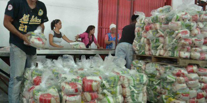 Gobierno y comunidades organizadas están de frente en la distribución de alimentos en Lara