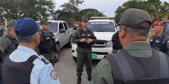 GNB y Organismos de Seguridad Ciudadana despliegan más de 1.500 funcionarios para el resguardo de los larenses