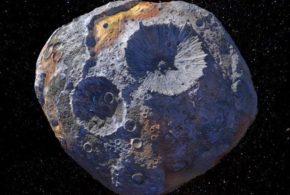 Revelan que asteroides metálicos pueden albergar erupciones de hierro fundido