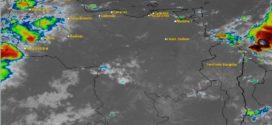 Inameh prevé lluvias de intensidad variable en Llanos, Occidente, Andes, Zulia y Sur