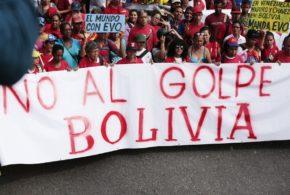 Gran Marcha Antiimperialista en apoyo a Evo Morales desbordó todo el país