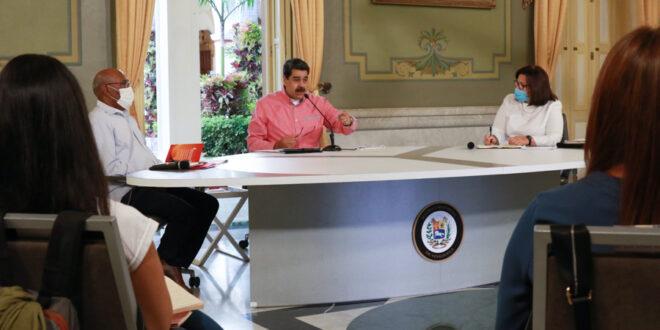 Presidente Maduro llama al pueblo de Venezuela a tomar conciencia frente al COVID-19
